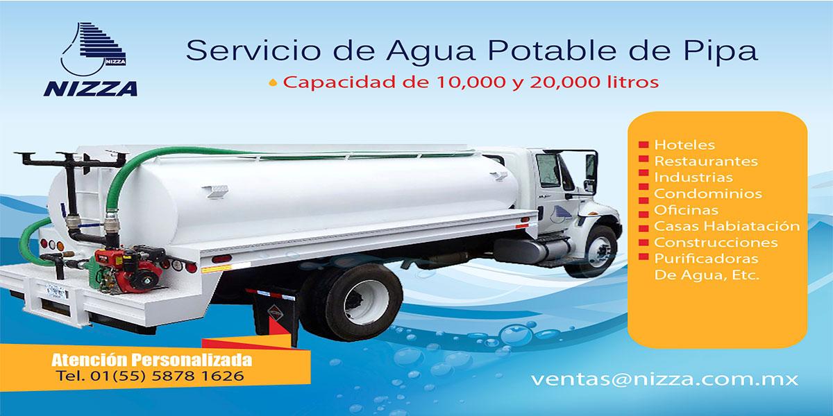 Nizza comercializadora de productos para purificadoras for Compro estanque de agua